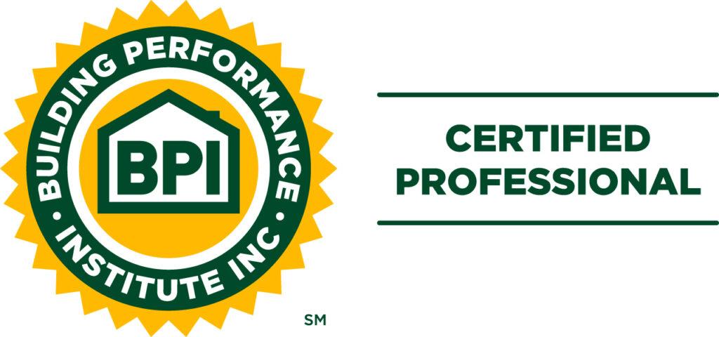 Certified Building Professional Institute (BPI) Logo